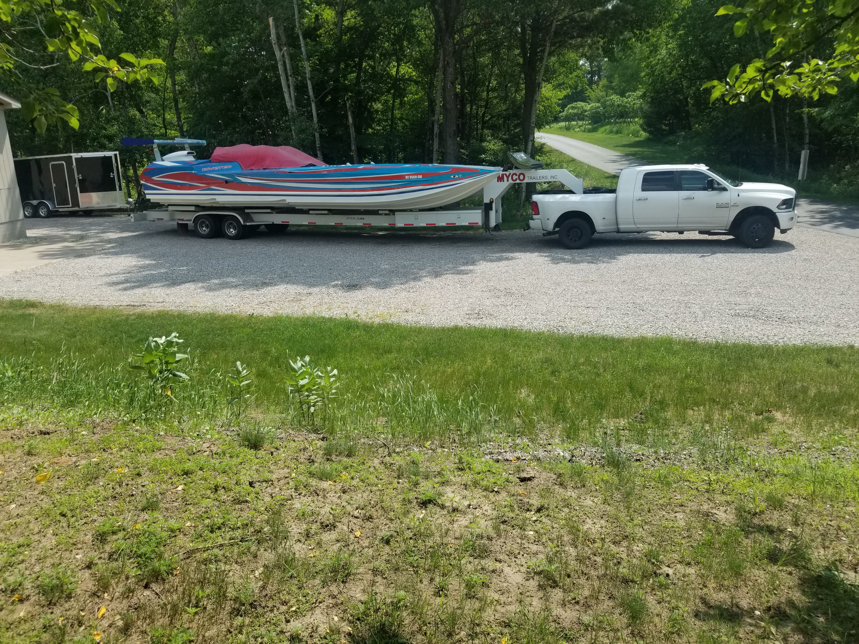 boat and trailer delivery